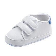 Niño pequeño bebé niño niña suela suave zapatillas de deporte cuna recién nacido F5