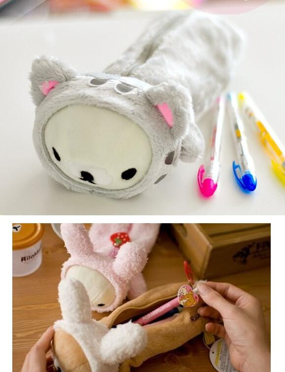 1 Stück Ziemlich Plüsch Spielzeug Plüsch Kissen Puppe Cartoon Rilakkuma Bär Küken Nette Huhn Kleid Mantel Hut Baby Geschenk Stofftiere & Plüsch
