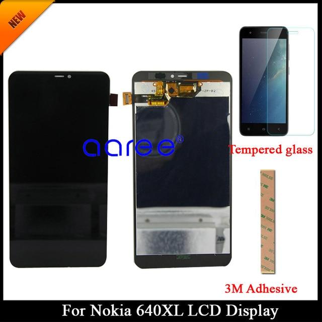 100% נבדק Gurantee כיתה AAA עבור Nokia lumia 640XL LCD עבור Nokia lumia 640XL תצוגת LCD מסך מגע Digitizer עצרת