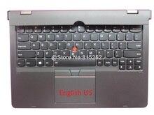 """מקלדת Dock עבור Lenovo עבור ThinkPad Helix Gen 2 20CG 20CH עבור Ultrabook פרו אנגלית ארה""""ב תאילנד TI הולנד NL בריטניה בריטניה"""