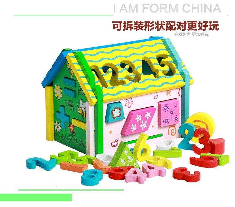 de Brinquedos Infantis de Madeira Requintado Presente da Criança