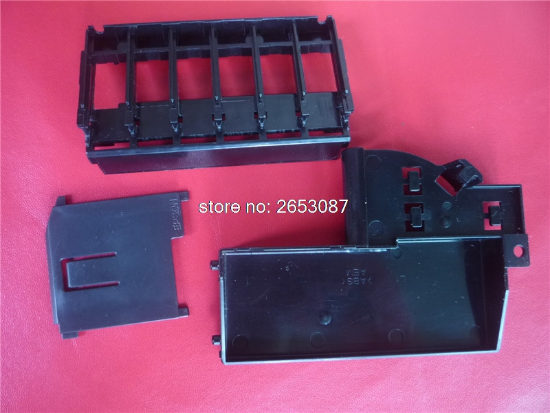 New and origina Ink Cartridge Chip Board Chip Contact For Epson L800 L801 Printer Part cartridge chip units high quality original renew cartridge chip detection board for epson r290 r270 r390 t60 me1100 t50 chip contact plate
