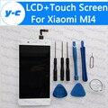 Для Xiaomi mi4 ЖК-Дисплей + Сенсорный Экран 100% Новый Digitizer Стекло Тяга Для Xiaomi mi4 На Складе Свободный Корабль