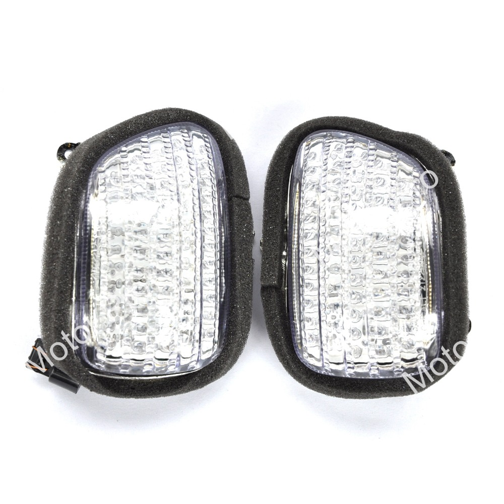 Light Covers For Honda GL 1800 GL1800 2001 2010 Goldwing Turn Signal Lens Motorcycle 2002 2003 2004 2005 2006 2007 2008 2009
