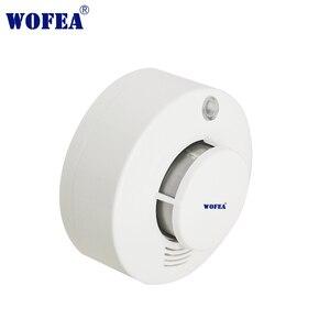 Image 2 - Wofea Photoelektrische Rauchmelder Sensor Wired Rauch alarm feuer alarm 12V alarm mit summer und relais ausgang NO/NC