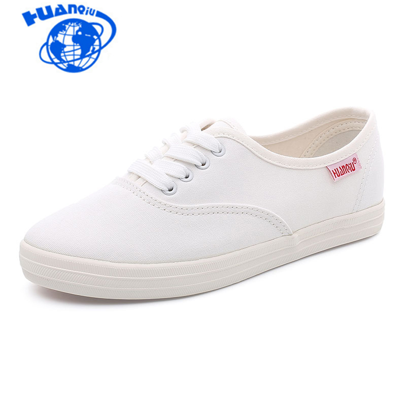 Toile Chaussures Femmes Mode Solide Lace-up Y4KcdWvkL