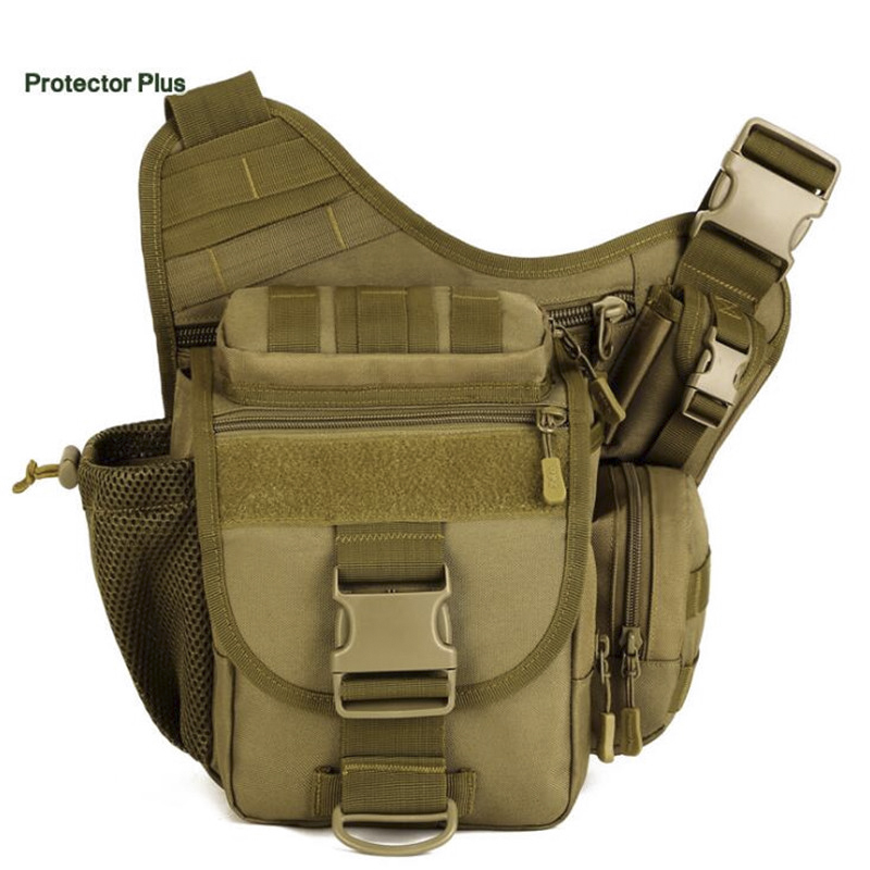 Protector Plus DSLR Tactical Camouflage Camera Pack Women Messenger Bag Men Outdoor Sport Bags Waterproof Nylon Saddle Bag S380 light waterproof women s small crossbody bag camouflage fresh outdoor brand bag sport college style oxford hobos messenger bag