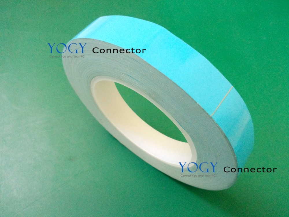 21mm or 22mm wide, 25 meters/roll, Double Sided Adhesive Thermal Conductive Tape for LED Lighting Panel Chipset Heat Trasnfer 1pcs 18mm x 5mm single sided self adhesive shockproof sponge foam tape 3 meters