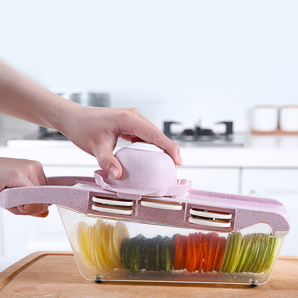 kitchen accessories 2019 Multifunctional Vegetable Cutter Wire Cutter Planer Household Wire Wiper(China)