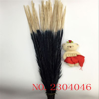 20 beautiful 50 to 55 cm (20 22 inches) pheasant tail with double color white and black DIY decorative arts and crafts