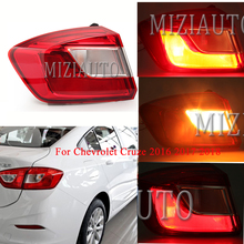 лучшая цена 1PCS Outer side Rear Tail Lightfor Chevrolet Cruze 2016 2017 2018 taillights Tail Light  turn signal Assembly Warning Stop Lamp