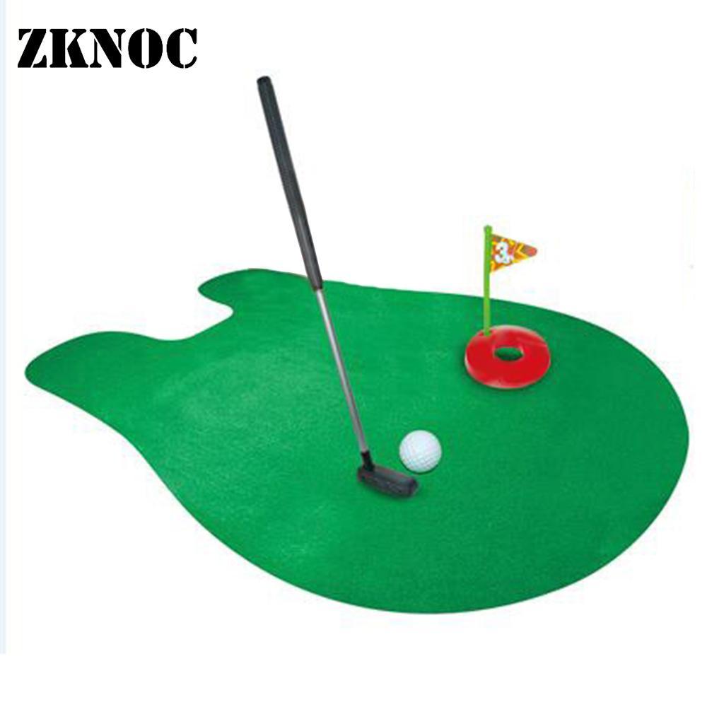 Toilet Mini Golf Potty Putter Game Mini Golf Set Toilet