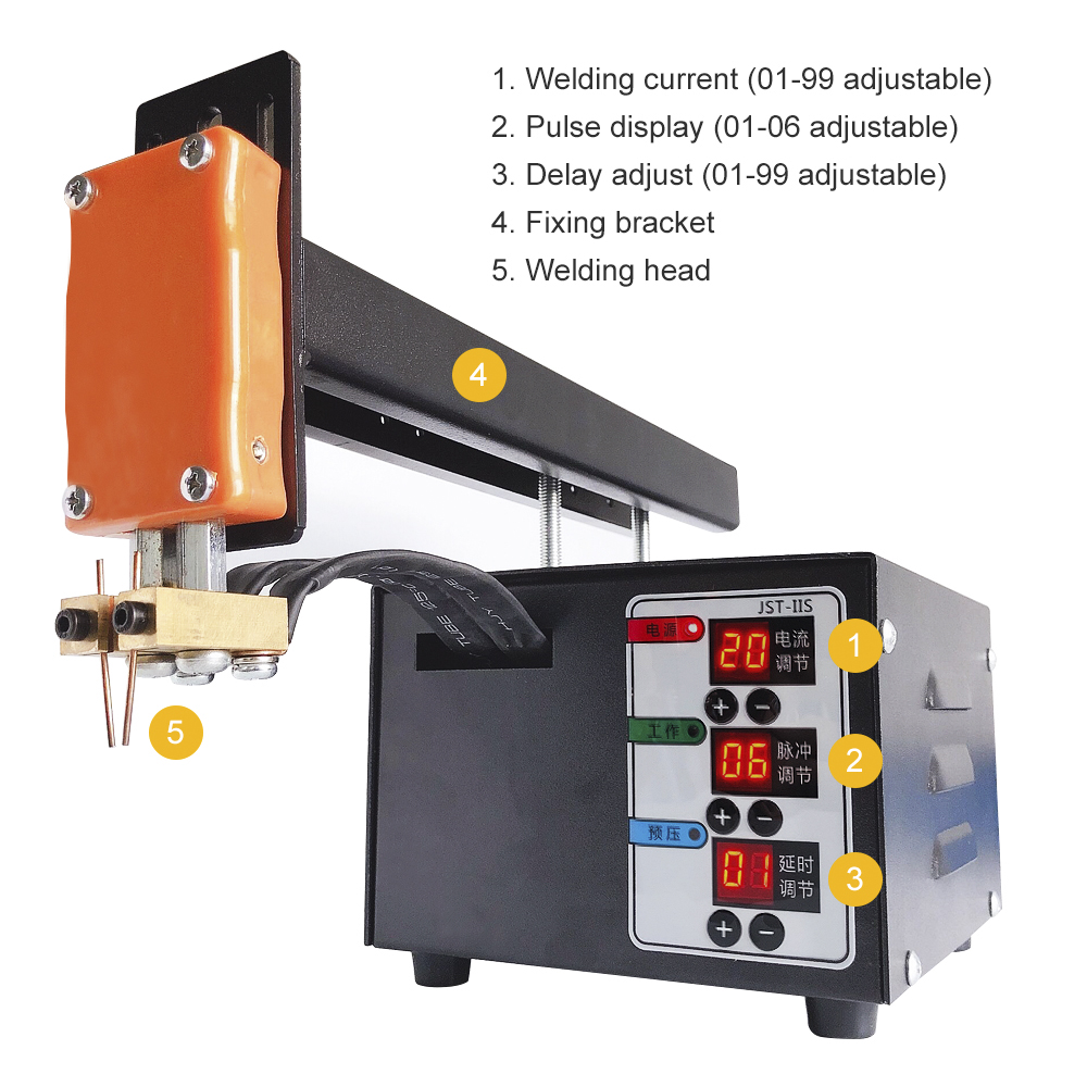 Image 3 - Battery Spot Welder 3KW High Power 18650 Spot Welding Machine Lithium Batteries Pack Nickel Strip Welding Precision Pulse WelderSpot Welders   - AliExpress