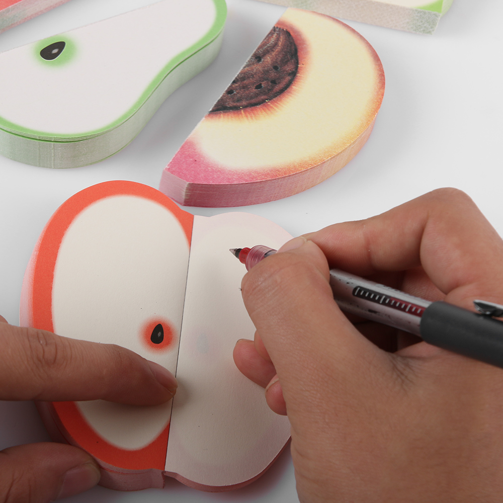 Fruit Sticker Pads - Watermelon/Peach/Pear/Apple 3