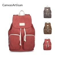 2018 Brand Canvas Backpack For Tablet 7 8 9 9 7 Notebook Compute Bag Case For