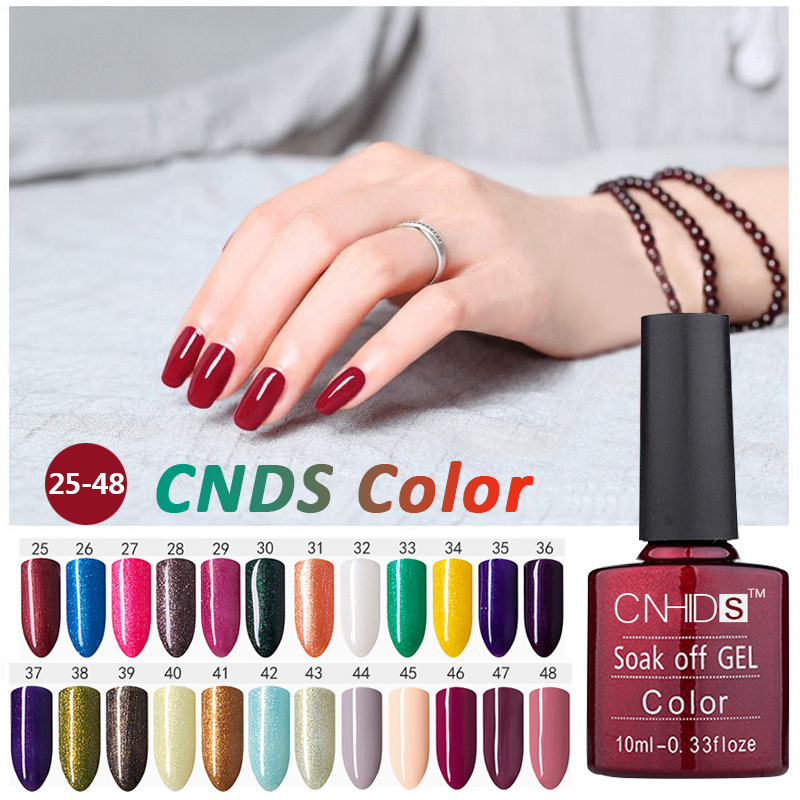 CNDs 156Color 10ml UV Gel Nail Polish Neon Color UV Lamp Soak Off Gel Polish Gel Lak Vernis Semi Permanent Gelpolish
