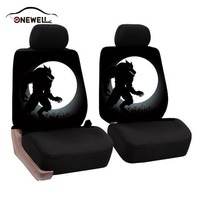 ONEWELL Auto Seat Covers Fashion Personality Auto Care Car Front Seat Covers Universal Universal Vehicle Front
