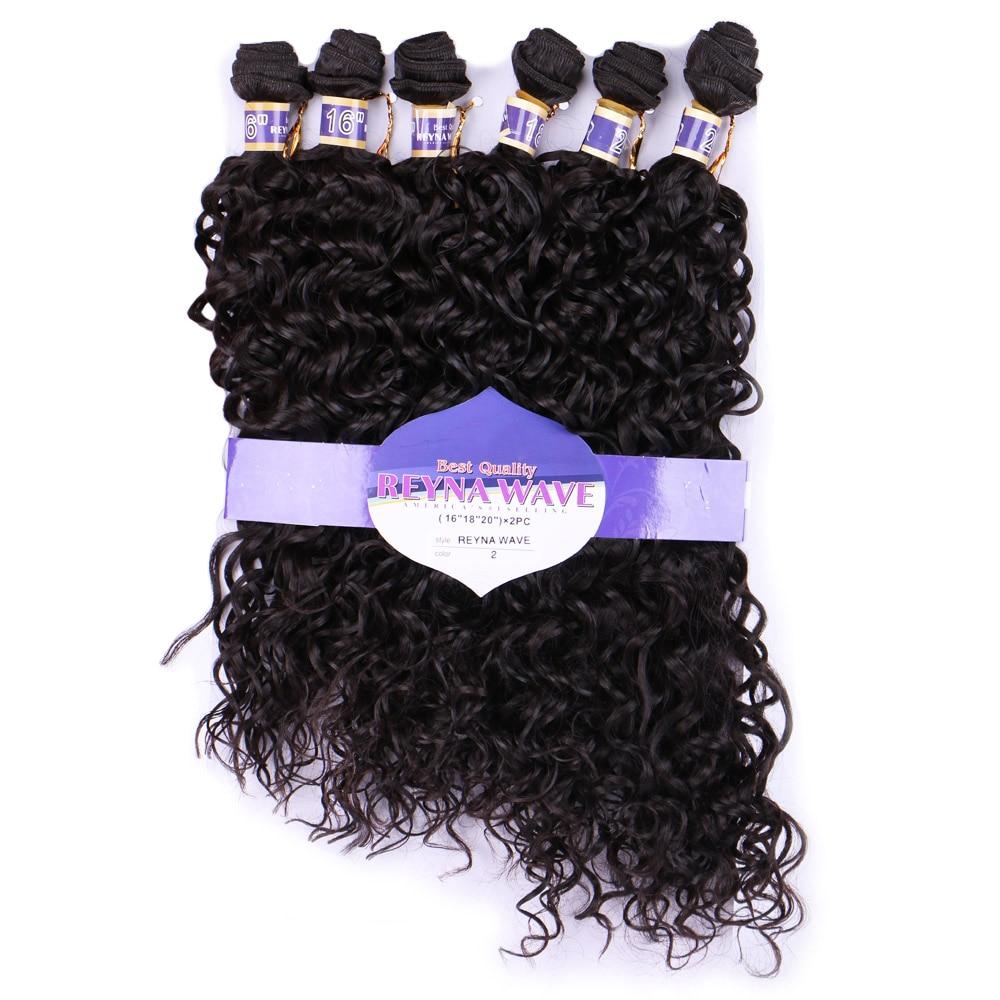 Delice 6 Bundlespack Womens Water Wave Hair Weaving High