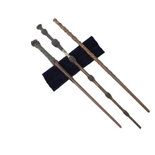 Поттер Гермиона Грейнджер волшебные палочки Colsplay металл/Железный сердечник Дамблдор старый волшебная палочка малыш взрослые игрушки