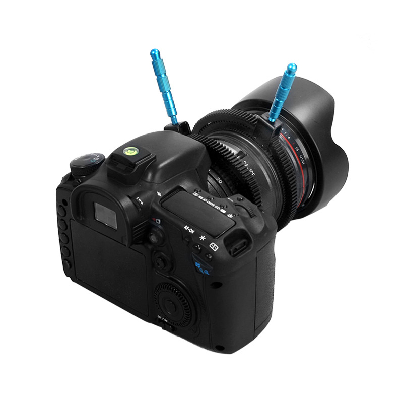 Untuk aksesori kamera SLR DSLR getah boleh laras ikuti tali pinggang - Kamera dan foto - Foto 5