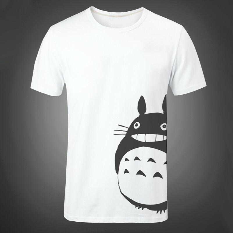 3c408e985 Anime My Neighbor Totoro short sleeve Cosplay T-shirt funny graphic tumblr  grunge cotton tees