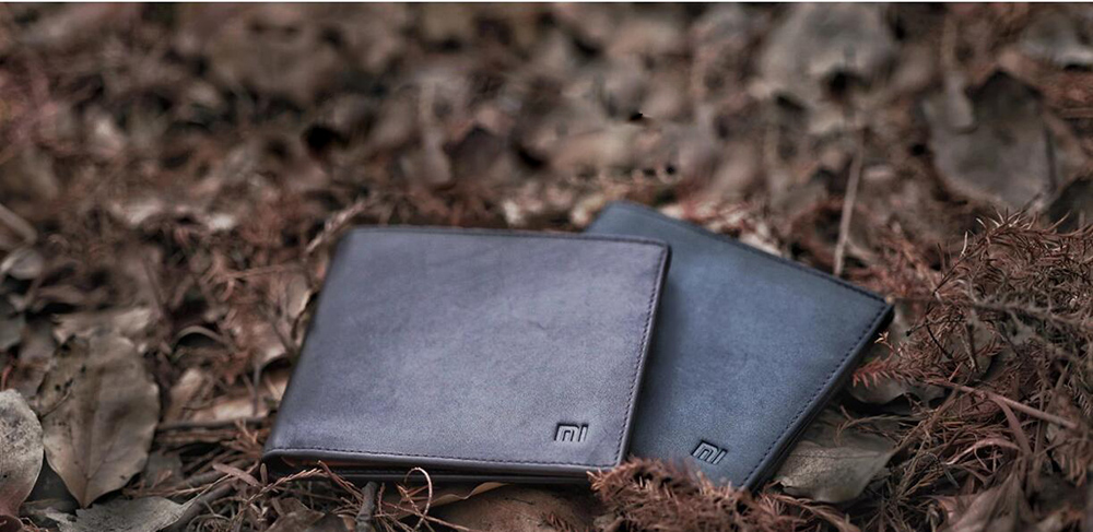 XIAOMI Mi Wallet Genuine Leather Black Purse Man Stylish Business Cowhide Standard Wallets High Quality Men Leather Wallets  (7)