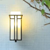 New Chinese Outdoor Wall Led Light Modern Room External Wall Lamp Waterproofing Courtyard Light Aisle Balcony Porch Lights