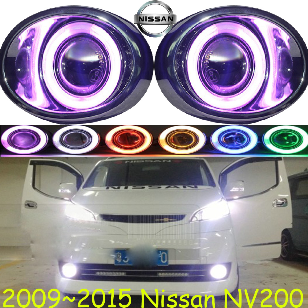 ФОТО NV200 fog light 2009~2015 Free ship!NV200 daytime light,2ps/set+wire ON/OFF:Halogen/HID XENON+Ballast,NV200