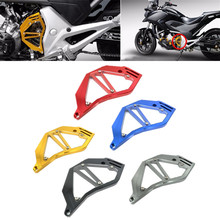 цена на Billet Aluminum Front Chain Sprocket Cover For 2012-2013 Honda NC700X NC700S NC700 S/X Motorcycle Accessories Black Red Blue
