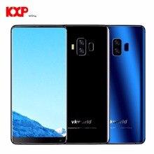 4G VKworld S8 Android 7.0 MTK6750T 4 GB + 64 GB Smartphone 16MP + 13MP Caméras Mobile Téléphones D'empreintes Digitales 5500 mAh 5.99 pouce Plein Écran