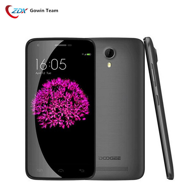 Doogee Y100 Plus 5.5 Inch HD Android 5.1 MTK6735 Quad Core Mobile Phone 2G RAM 16G ROM 13.0MP Camera 4G FDD-LTE Cell Phone