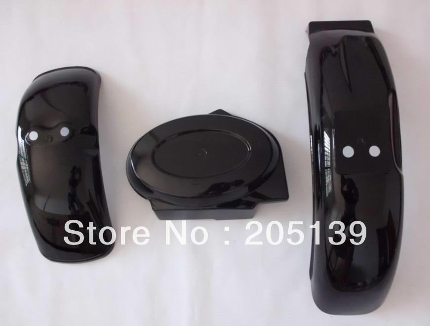 Z50 fender hadapan plastik fender & belakang fender & Bateri perlindungan untuk honda mudguard motosikal parafango moto MONKEY bike z 50