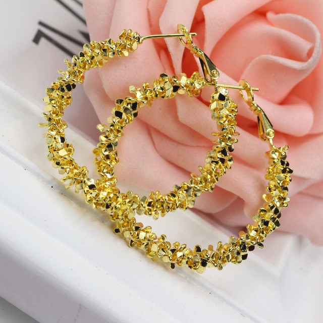 about amazon dp rhinestones for stud inch sannysis beautiful hoop half silvering earrings an com women