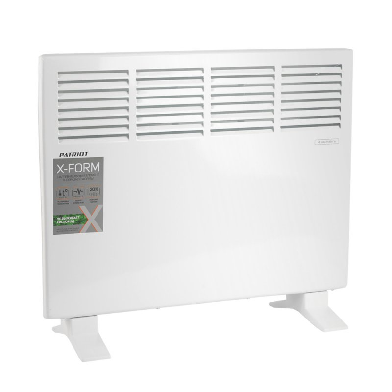 Heater конвекторный PATRIOT PT-C 15 X (power 1500 W, 2 working mode, over temperature protection)