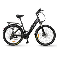 Newest 26 inch ladies best city ebike electric bike 36v 250w