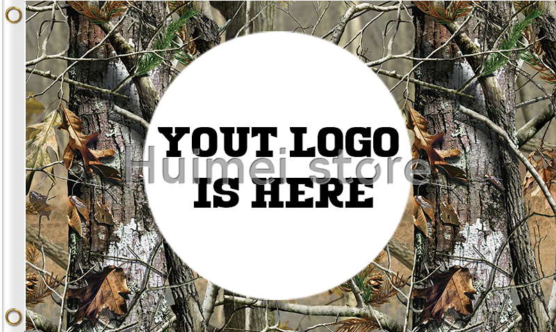 custom logo brand flag 100D polyester digital print Kamuflážní vlajka custom business hobby history banner