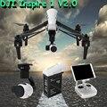 2016 dji inspire 1 v2.0 rc drone con cámara de 4 k y Cardán de $ Number Ejes de Control Remoto RC Quadcopter RTF helicóptero Libre gratis