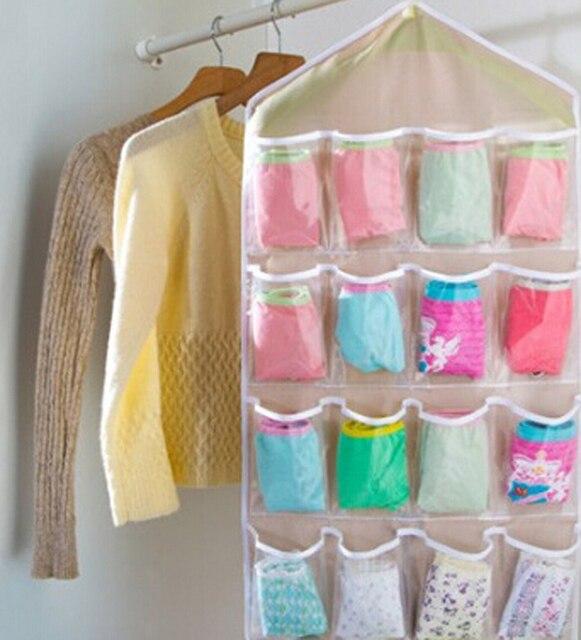 Pockets Hanging Bag Door Holder ShoeJewelrySocks Storage Sorting