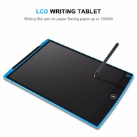 Durable Thin Lightweight One Button Erase LCD Writing Tablet Saving Paper For Children Gifts 2017 New