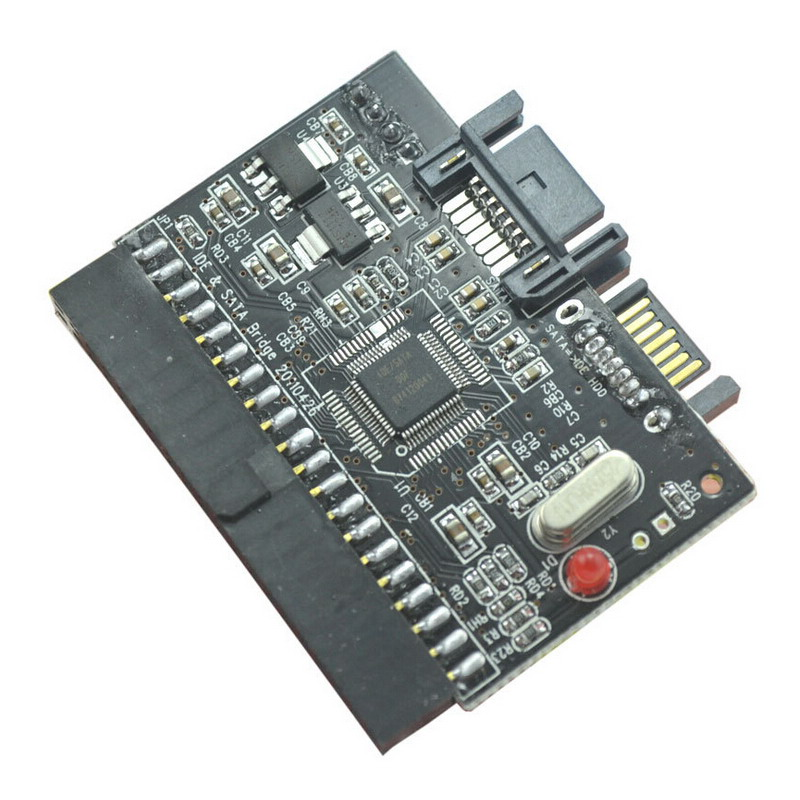 IDE to SATA or SATA to IDE Converter Adaptor ATA 100/133 Bi-Directional Card 2sb1100 b1100 to 220f
