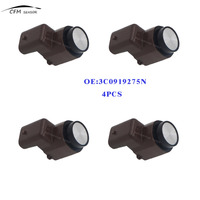 4PCS 3C0919275N 3C0919275R Electronics Park Assist Sensor PDC Ultrasonic Parking Sensor 3C0919275AD 3C0919275K 3C0919275J