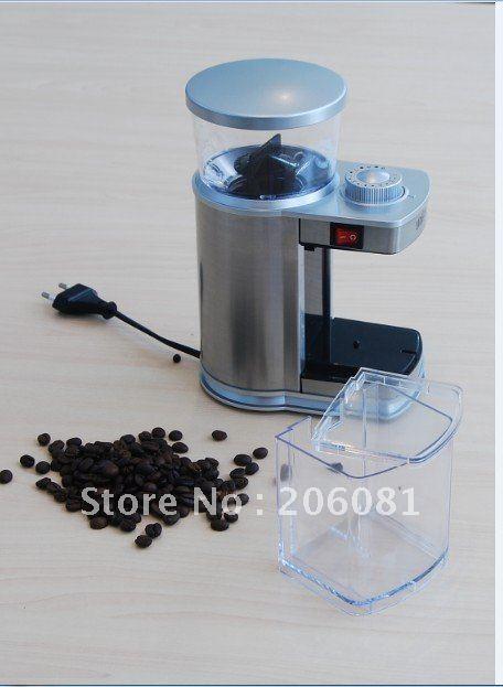 Lüks Paslanmaz çelik elektrikli Kahve değirmeni / cafe - Elektrikli Mutfak Aletleri - Fotoğraf 3