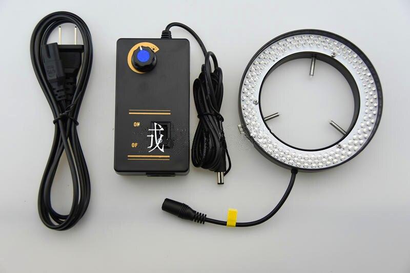 JL9 Machine Vision Light LED Ring Light White Lamp 80mm Inner Diameter Microscope Lighting Power 10W Lens LED Lights