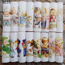 Handmade cloth DIY cotton canvas fabric / positioning cloth hand dyed patchwork cloth digital printing cute angel handmade cloth diy cotton canvas fabric van gogh oil painting handmade cotton decorative painting
