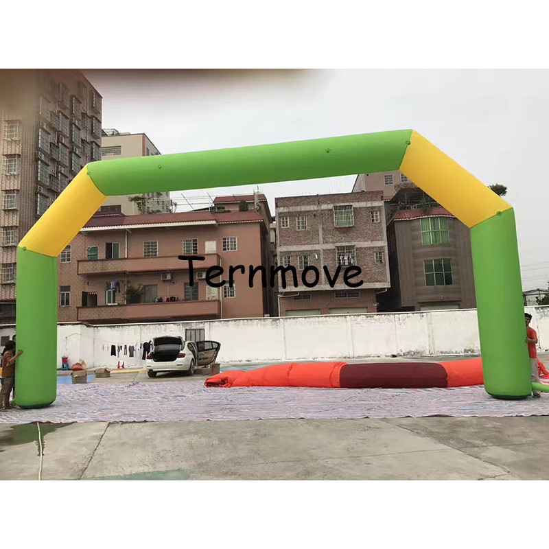 inflatable entrance arch gate arch door for outdoor big event race game inflatable entrance arch race events finsh line ...