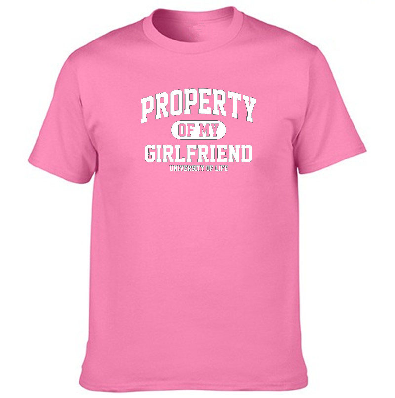 d67bd5228 PROPERTY OF MY GIRLFRIEND FUNNY PRINTED T SHIRT BOYFRIEND GIFT IDEA SLOGAN  Dropshipping-in T-Shirts from Women's Clothing on Aliexpress.com | Alibaba  Group
