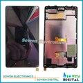 Для Nokia X2 Dual SIM RM-1013 X2DS ЖК-экран с сенсорным экраном дигитайзер с рамкой рамкой ассамблеи полный комплект, AAA + + класс