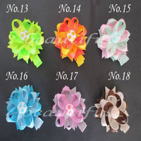 200 BLESSING Good Latest Vogue Various Style 2.25 2.75 F Flower summer hair accessories Bow 196
