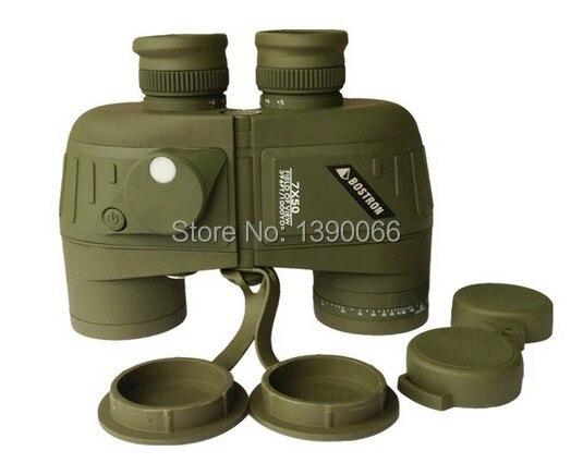 Tactical 7x50HD Waterproof Shock proof hunting font b Binoculars b font Telescope With Range RETICLE and