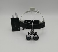 NEW Good Quality 3.5X times enlarge easy wearing surgery operation surgical Magnifier Dental Loupe with LED light